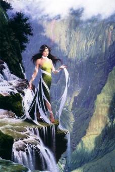 水之女神图片