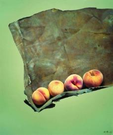 鍐峰啗 (2)水果疏菜静物油画超写实主义油画静物