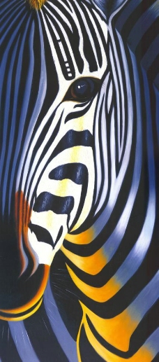 抽象斑马图片