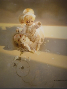 闈欑墿鍣ㄧ墿901 (3)实物杯子罐子器皿静物印象画派写实主义油画装饰画