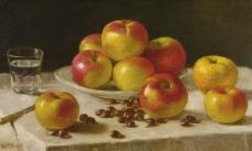 闈欑墿鏋滆敩901 (83)水果疏菜静物油画超写实主义油画静物