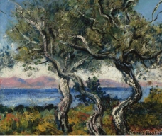 Francis Picabia - The Olive Trees, 1938大师画家风景画静物油画建筑油画装饰画
