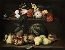 闈欑墿鏋滆敩901 (86)水果疏菜静物油画超写实主义油画静物