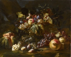 浜氫集鎷夌綍路鍕冮瞾鐩栧皵浣滃搧水果疏菜静物油画超写实主义油画静物
