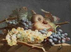 闈欑墿鏋滆敩901 (72)水果疏菜静物油画超写实主义油画静物