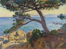 Theo van Rysselberghe - The Pin of Fossette, 1919大师画家风景画静物油画建筑油画装饰画