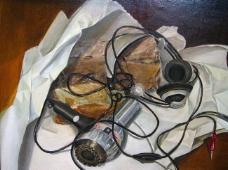 闈欑墿鍣ㄧ墿901 (2)实物杯子罐子器皿静物印象画派写实主义油画装饰画