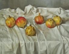 闈欑墿鏋滆敩901 (8)水果疏菜静物油画超写实主义油画静物