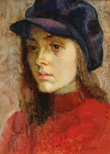 Western-233高清西方现代人物油画国外油画大师人物油画作品