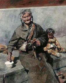 鐢荤 (59)高清西方现代人物油画国外油画大师人物油画作品