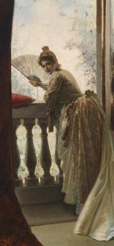 (43)高清西方画家写实动物油画印象派油画