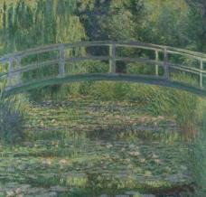 Water-Lily Pond, 1899 v2法国画家克劳德.莫奈oscar claude Monet风景油画装饰画