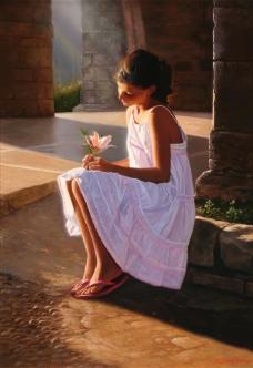 Western-234高清西方现代人物油画国外油画大师人物油画作品
