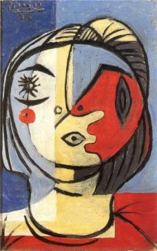 1926 T鍧眅1西班牙画家巴勃罗毕加索抽象油画人物人体油画装饰画
