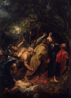 Dyck, Anton van - Seizure of Christ, 1618-20英国画家安东尼凡戴克Anthony van dyck人物油画装饰画