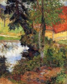 Paul Gauguin 0180法国画家保罗高更paul gauguin后印象主义风景人物田园自然静物油画装饰画
