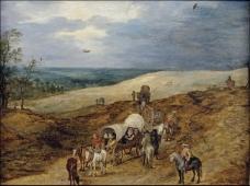 Brueghel the Elder, Jan - Paisaje con galeras, 1603大师画家古典画古典建筑古典景物装饰画油画
