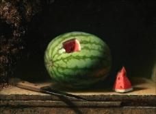 si200900193xl水果疏菜静物油画超写实主义油画静物