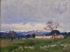 Beruete y Moret, Aureliano de - Paisaje del Pardo, 1910-11大师画家古典画古典建筑古典景物装饰画油画