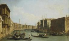 Canaletto (Giovanni Antonio Canal), Italian, 1697-1768 (2)大师画家古典画古典建筑古典景物装饰画油画