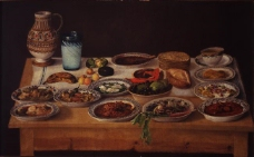闈欑墿鍣ㄧ墿901 (27)实物杯子罐子器皿静物印象画派写实主义油画装饰画