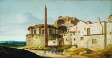 Pieter Jansz Saenredam大师画家古典画古典建筑古典景物装饰画油画