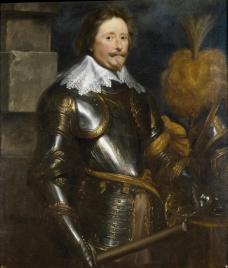 Dyck, Anton van - Federico Enrique de Nassau, principe de Orange, 1631-32英国画家安东尼凡戴克Anthony van dyck人