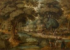 Mattheus Adolfsz. Molanus - Landscape大师画家古典画古典建筑古典景物装饰画油画