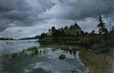 老拉多格城堡图片