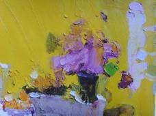 hQT661花卉水果蔬菜器皿静物印象画派写实主义油画装饰画