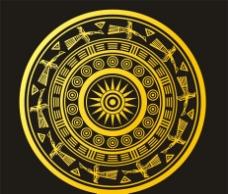 铜鼓花纹图片
