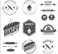 面包标签 蛋糕图片