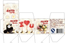 小包装多种口味糖果图片