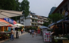 阳朔街景图片
