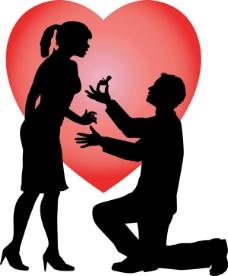 情侣求婚剪影