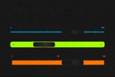 滚动条进度条PSD分层素材