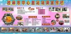 血站系统培训宣传栏图片