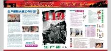 119消防宣传板报图片