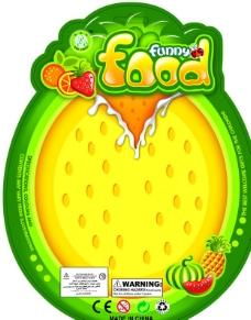 水果果汁展板图片