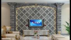 室内 电视背景墙图片
