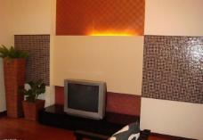东南亚风格电视背景墙图片