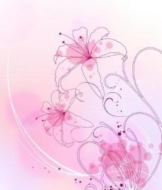 背景花纹图片