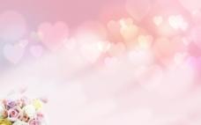 粉色浪漫背景图片
