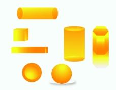 立体形状图案