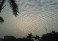 彩云和晚霞图片