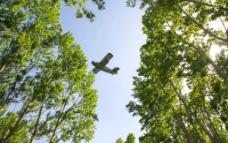 农药飞机图片