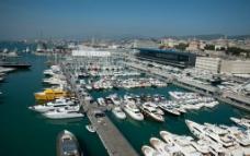热那亚 港口城市图片