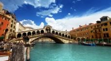 威尼斯 意大利 桥图片