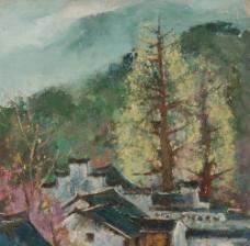 山中春色图片