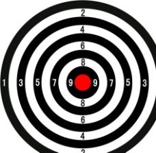靶子槍靶箭靶圖片